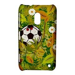 Ball On Forest Floor Nokia Lumia 620 by linceazul