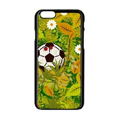 Ball On Forest Floor Apple Iphone 6/6s Black Enamel Case by linceazul