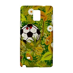 Ball On Forest Floor Samsung Galaxy Note 4 Hardshell Case by linceazul