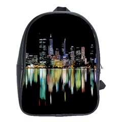 City Panorama School Bags (xl)  by Valentinaart