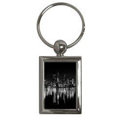 City Panorama Key Chains (rectangle)  by Valentinaart