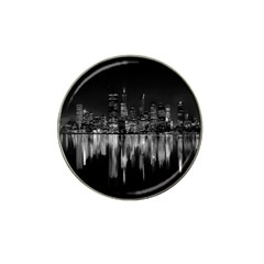 City Panorama Hat Clip Ball Marker by Valentinaart