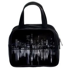 City Panorama Classic Handbags (2 Sides) by Valentinaart