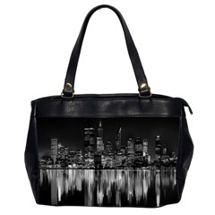 City Panorama Office Handbags (2 Sides)  by Valentinaart