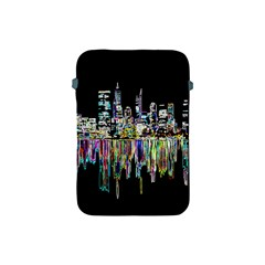 City Panorama Apple Ipad Mini Protective Soft Cases by Valentinaart