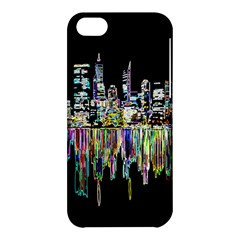 City Panorama Apple Iphone 5c Hardshell Case by Valentinaart