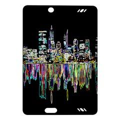City Panorama Amazon Kindle Fire Hd (2013) Hardshell Case by Valentinaart