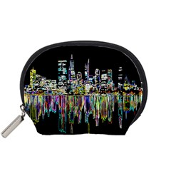 City Panorama Accessory Pouches (small)  by Valentinaart