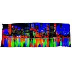 City Panorama Body Pillow Case Dakimakura (two Sides) by Valentinaart