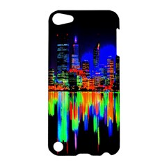City Panorama Apple Ipod Touch 5 Hardshell Case by Valentinaart