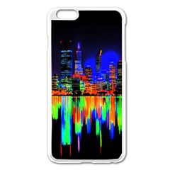 City Panorama Apple Iphone 6 Plus/6s Plus Enamel White Case by Valentinaart