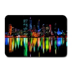 City Panorama Plate Mats by Valentinaart