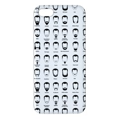 Beard Types Pattern Iphone 5s/ Se Premium Hardshell Case by Valentinaart