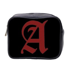 The Scarlet Letter Mini Toiletries Bag 2 Side by Valentinaart