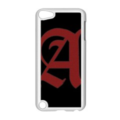 The Scarlet Letter Apple Ipod Touch 5 Case (white) by Valentinaart