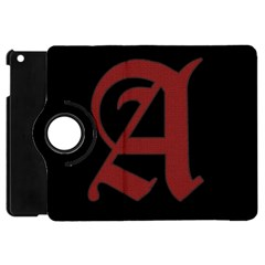 The Scarlet Letter Apple Ipad Mini Flip 360 Case by Valentinaart