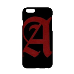 The Scarlet Letter Apple Iphone 6/6s Hardshell Case by Valentinaart