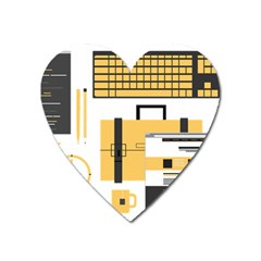 Web Design Mockup Web Developer Heart Magnet by Nexatart