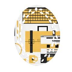 Web Design Mockup Web Developer Oval Filigree Ornament (two Sides)