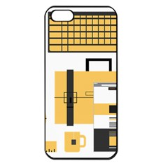 Web Design Mockup Web Developer Apple Iphone 5 Seamless Case (black) by Nexatart