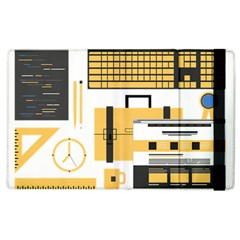 Web Design Mockup Web Developer Apple Ipad 2 Flip Case by Nexatart