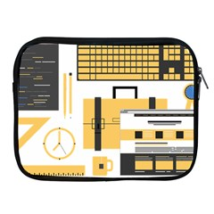 Web Design Mockup Web Developer Apple Ipad 2/3/4 Zipper Cases