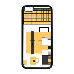 Web Design Mockup Web Developer Apple Iphone 5c Seamless Case (black) by Nexatart