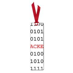 Binary Black Cyber Data Digits Small Book Marks