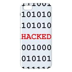 Binary Black Cyber Data Digits Iphone 5s/ Se Premium Hardshell Case