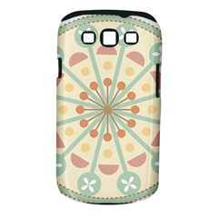 Blue Circle Ornaments Samsung Galaxy S Iii Classic Hardshell Case (pc+silicone)
