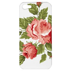 Flower Rose Pink Red Romantic Apple Iphone 5 Hardshell Case