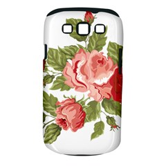 Flower Rose Pink Red Romantic Samsung Galaxy S Iii Classic Hardshell Case (pc+silicone) by Nexatart
