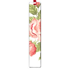 Flower Rose Pink Red Romantic Large Book Marks by Nexatart