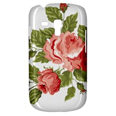 Flower Rose Pink Red Romantic Galaxy S3 Mini