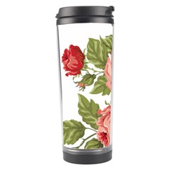 Flower Rose Pink Red Romantic Travel Tumbler