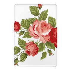Flower Rose Pink Red Romantic Samsung Galaxy Tab Pro 10 1 Hardshell Case by Nexatart