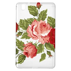 Flower Rose Pink Red Romantic Samsung Galaxy Tab Pro 8 4 Hardshell Case