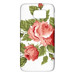 Flower Rose Pink Red Romantic Galaxy S6 by Nexatart