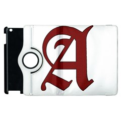 The Scarlet Letter Apple Ipad 2 Flip 360 Case by Valentinaart