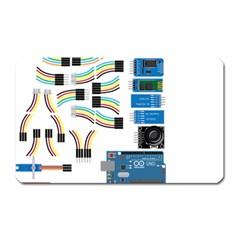 Arduino Arduino Uno Electronic Magnet (rectangular) by Nexatart