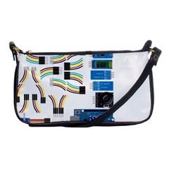 Arduino Arduino Uno Electronic Shoulder Clutch Bags by Nexatart