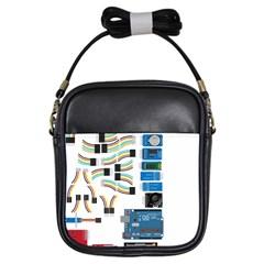 Arduino Arduino Uno Electronic Girls Sling Bags by Nexatart