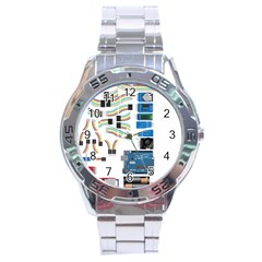 Arduino Arduino Uno Electronic Stainless Steel Analogue Watch