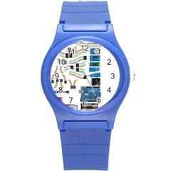 Arduino Arduino Uno Electronic Round Plastic Sport Watch (s) by Nexatart