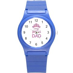 Crazy Pageant Dad Round Plastic Sport Watch (s) by Valentinaart