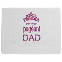Crazy Pageant Dad Jigsaw Puzzle Photo Stand (rectangular) by Valentinaart