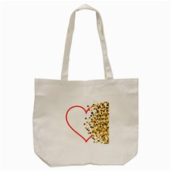 Heart Transparent Background Love Tote Bag (cream)