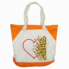 Heart Transparent Background Love Accent Tote Bag by Nexatart