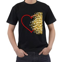 Heart Transparent Background Love Men s T Shirt (black) by Nexatart