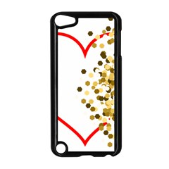 Heart Transparent Background Love Apple Ipod Touch 5 Case (black) by Nexatart